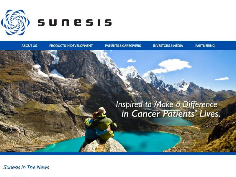Sunesis Pharmaceuticals, Inc. Gains 24.3%