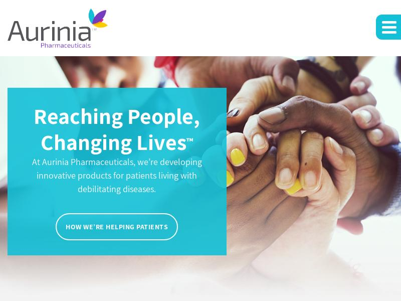 Aurinia Pharmaceuticals Inc. Gains 26.75%