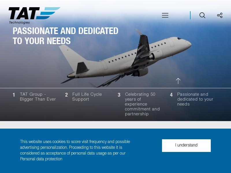 TAT Technologies Ltd. Soared