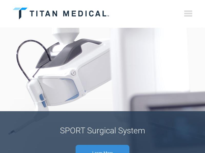 Big Move For Titan Medical Inc.