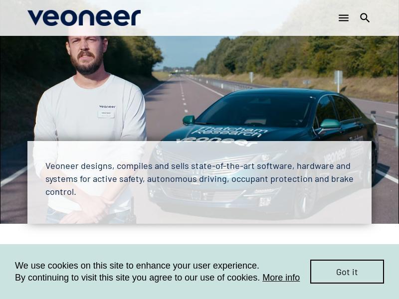 Veoneer, Inc. Gains 28.48%