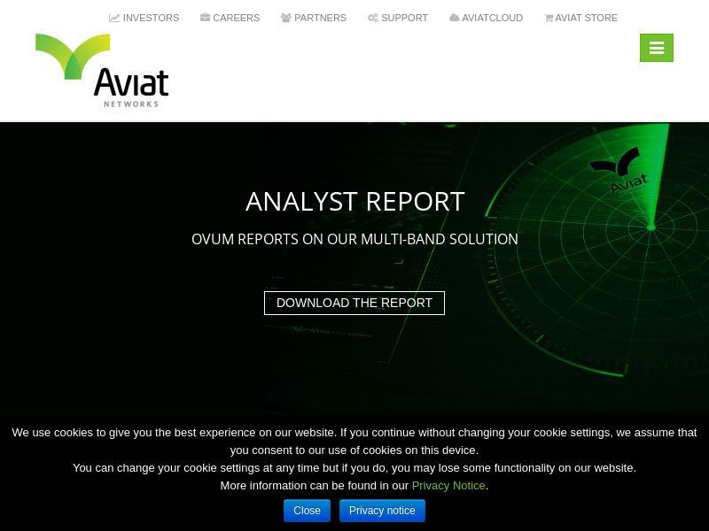 Aviat Networks, Inc. Gains 31.42%