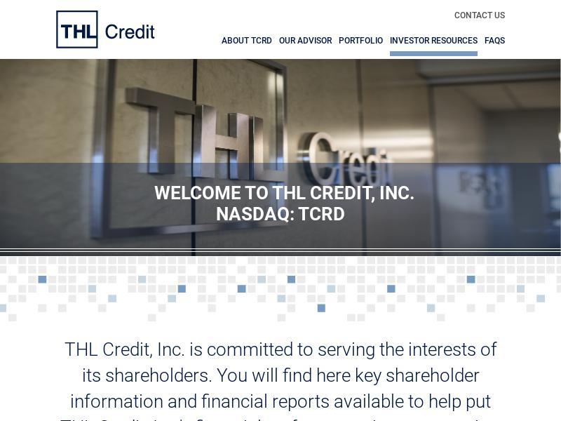 THL Credit, Inc. Gains 48.48%