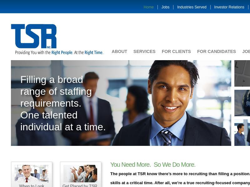 Big Gain For TSR, Inc.