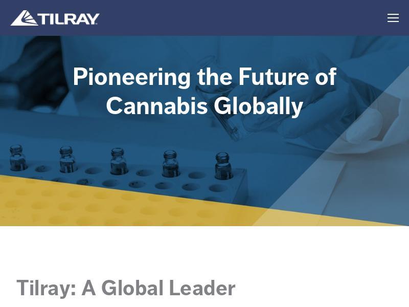 Big Gain For Tilray, Inc.