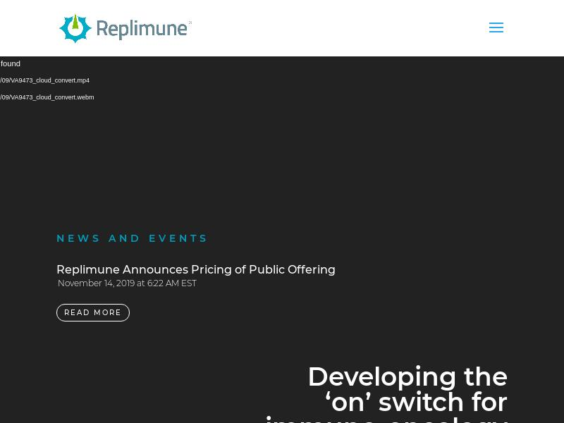Big Move For Replimune Group, Inc.