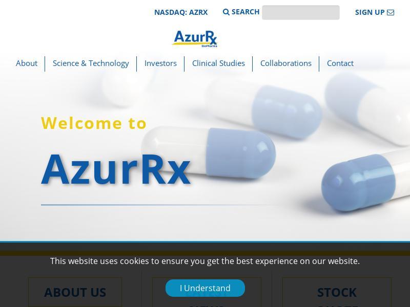 AzurRx BioPharma, Inc. Skyrocketed