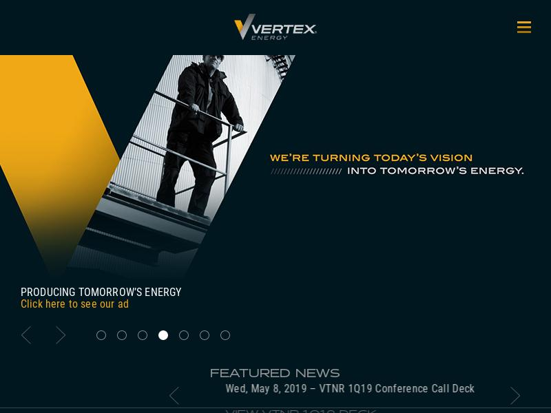 Big Move For Vertex Energy, Inc.