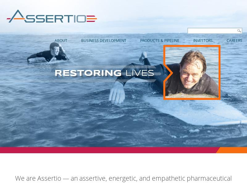 Assertio Therapeutics, Inc. Recorded Big Gain