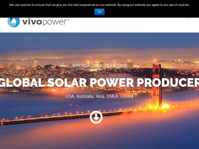 A Win For VivoPower International PLC