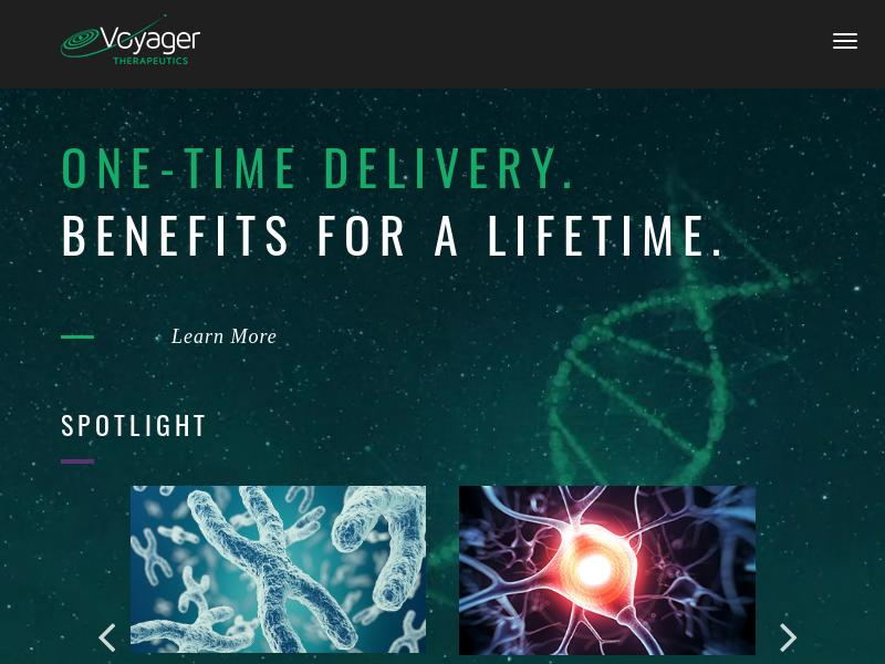 Voyager Therapeutics, Inc. Gains 44.53%