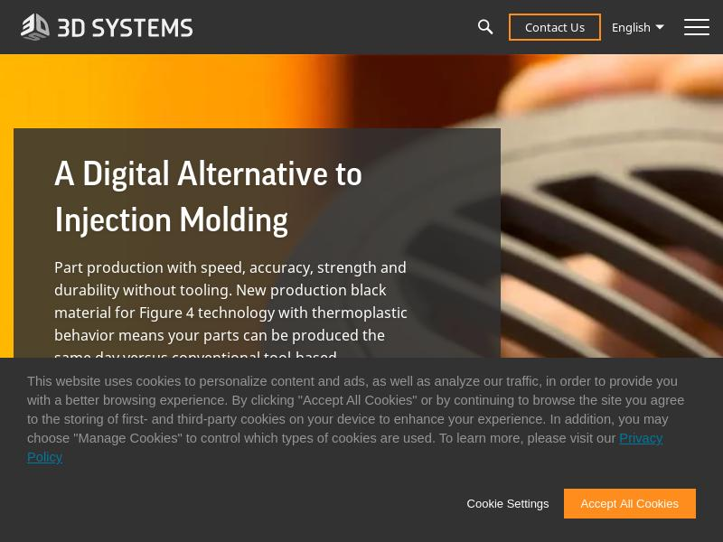 A Win For 3D Systems Corporation