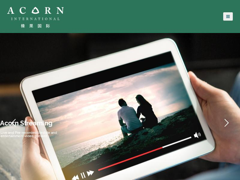 Big Move For Acorn International, Inc.