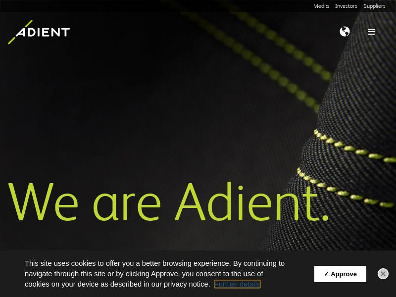 Adient plc Soared
