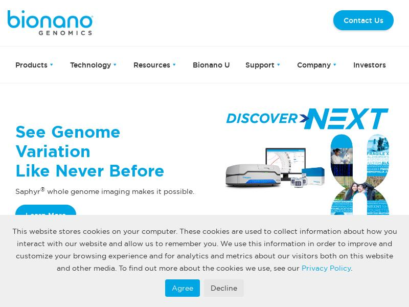 Bionano Genomics, Inc. Skyrocketed