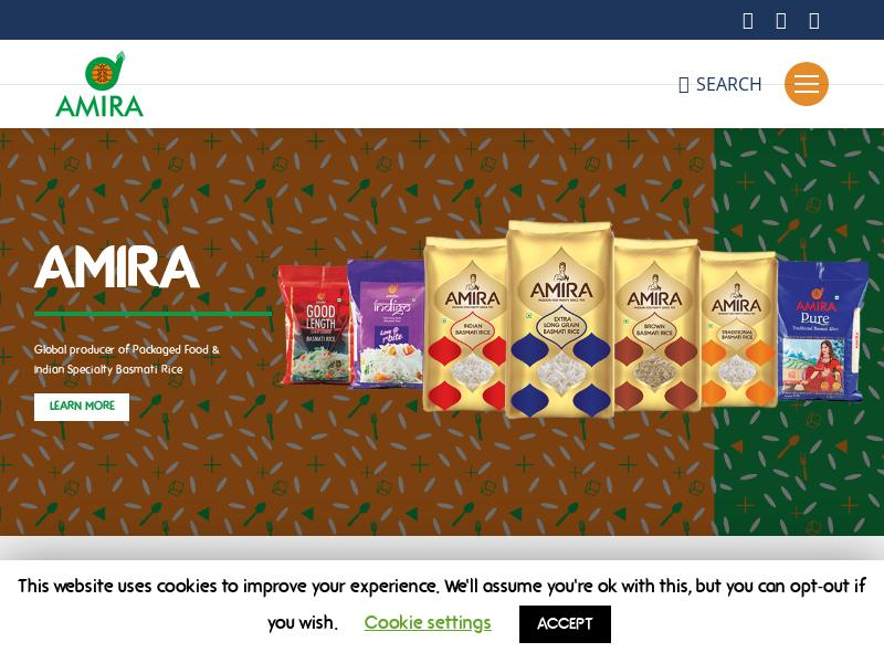 Amira Nature Foods Ltd. Skyrocketed