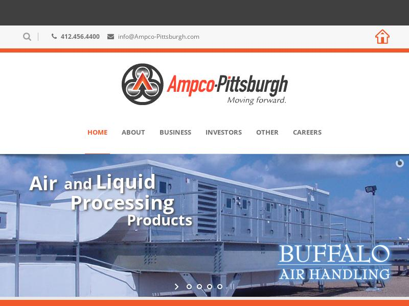 Big Move For Ampco-Pittsburgh Corporation