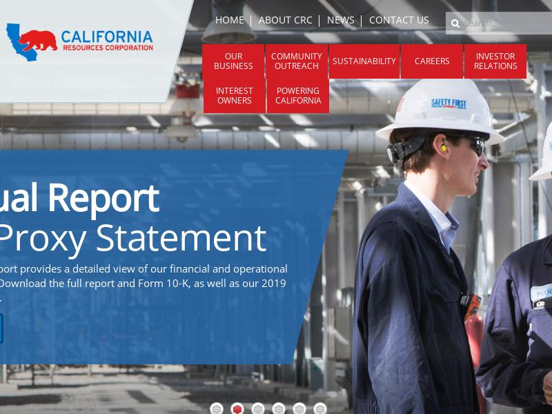 California Resources Corporation Gains 55.56%