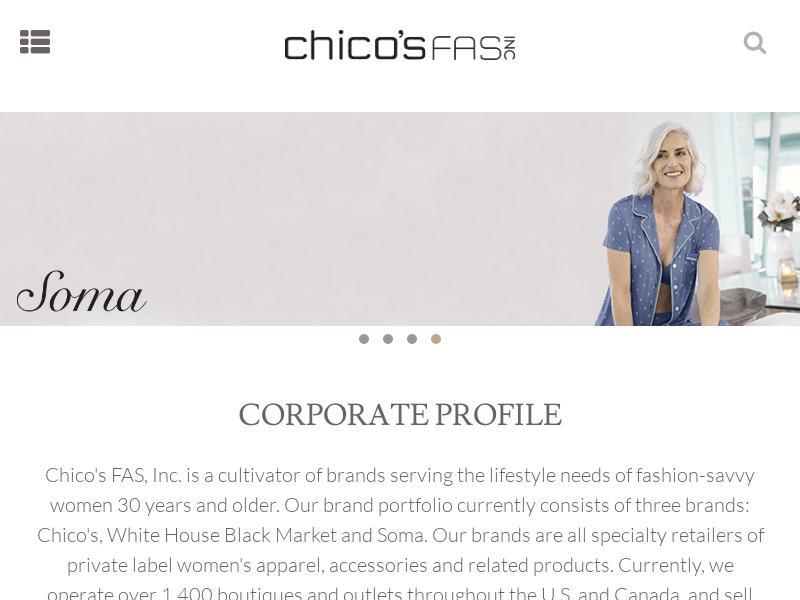 Chico's FAS, Inc. Made Headway