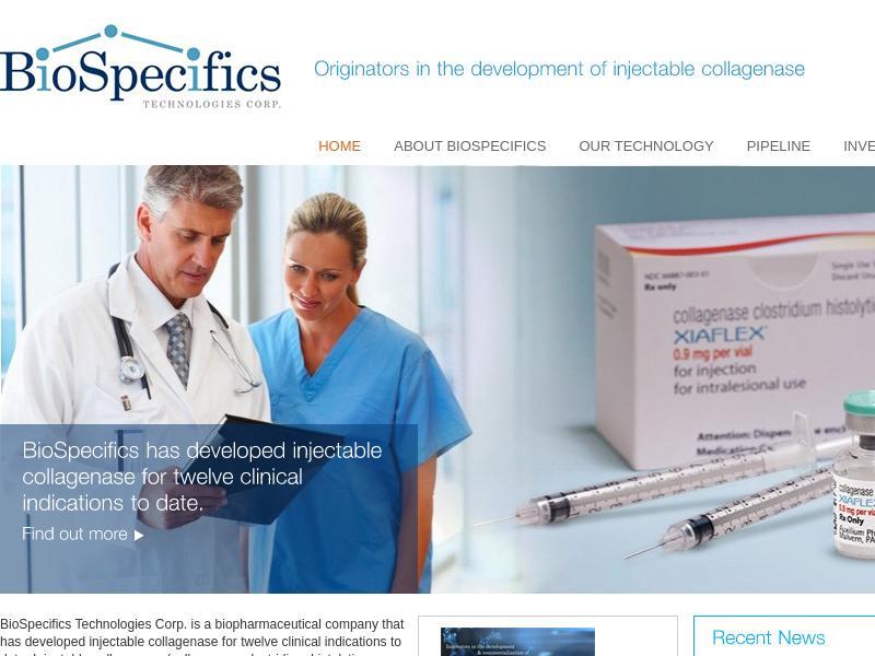 Big Move For BioSpecifics Technologies Corp.
