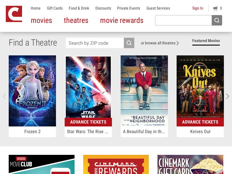 Cinemark Holdings, Inc. Skyrocketed