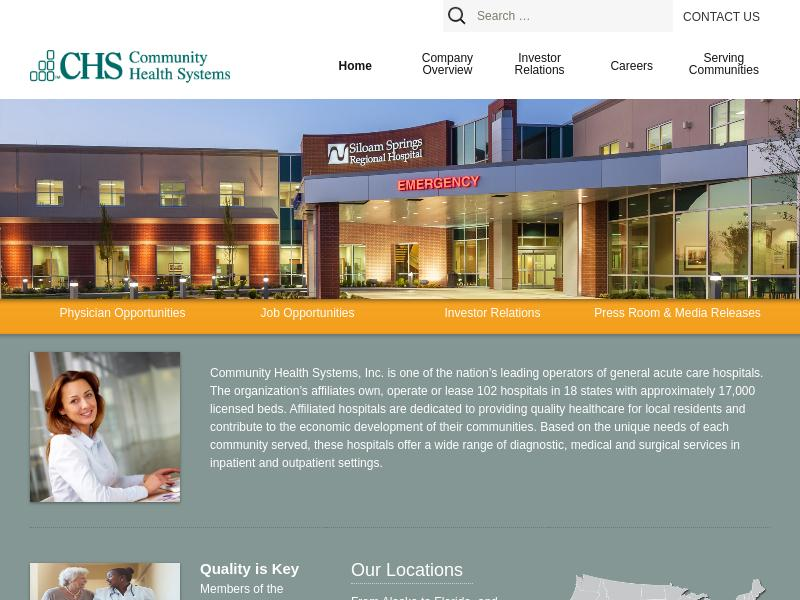 Big Move For Community Health Systems, Inc.