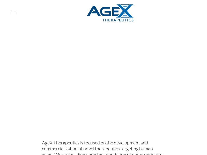 Big Gain For AgeX Therapeutics, Inc.