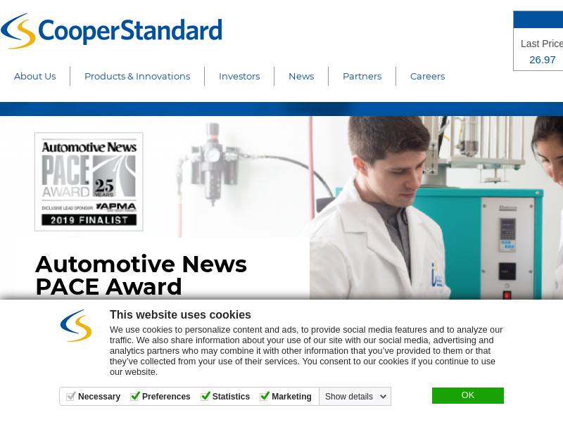 Cooper-Standard Holdings Inc. Made Headway