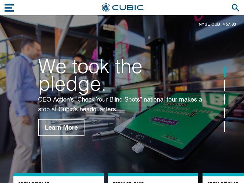 Cubic Corporation Gains 34.23%