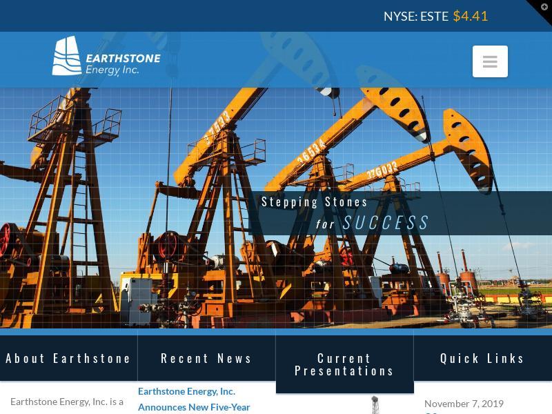 Earthstone Energy, Inc. Gains 25.31%