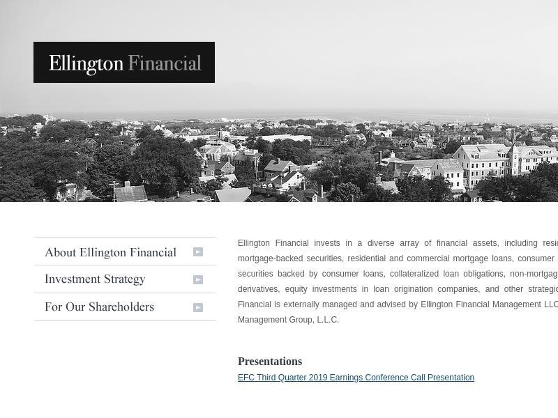 A Win For Ellington Financial Inc.