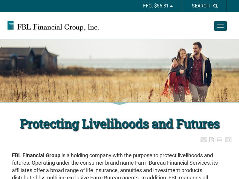FBL Financial Group, Inc. Recorded Big Gain