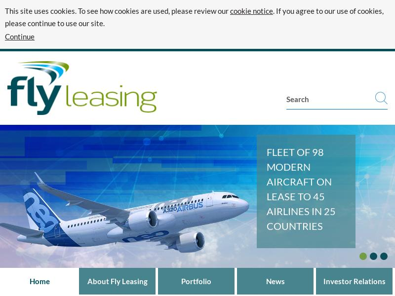 Big Move For Fly Leasing Limited
