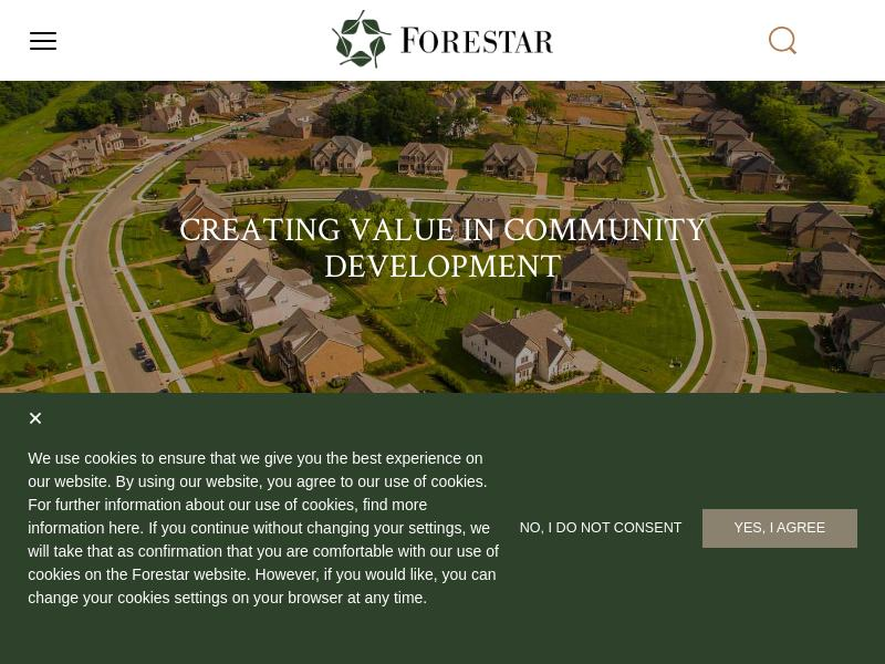 Forestar Group Inc. Gains 25%