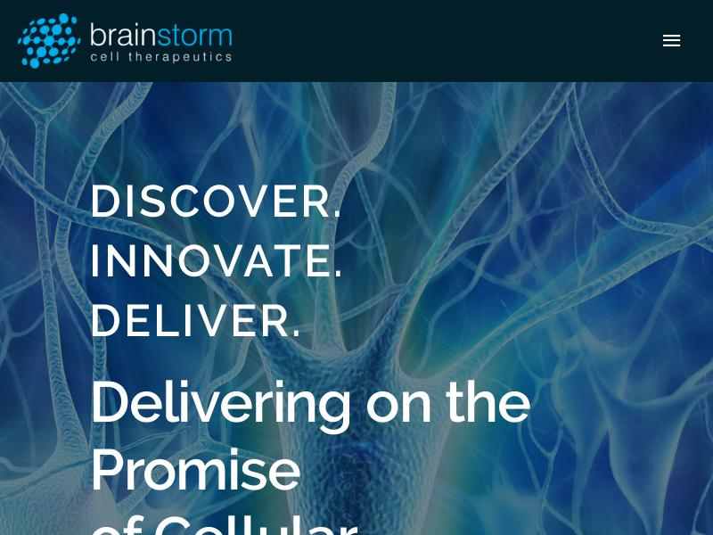 Brainstorm Cell Therapeutics Inc. Gains 22.67%