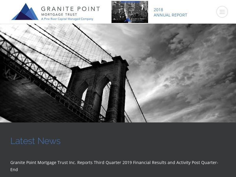 Granite Point Mortgage Trust Inc. Gains 202.67%