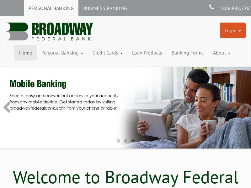 Broadway Financial Corporation Gains 44.44%