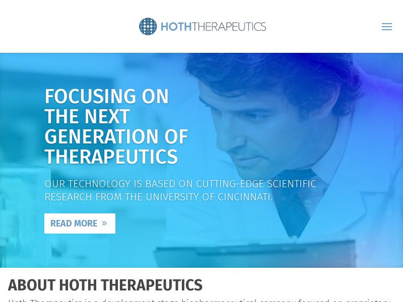 A Day Up For Hoth Therapeutics, Inc.