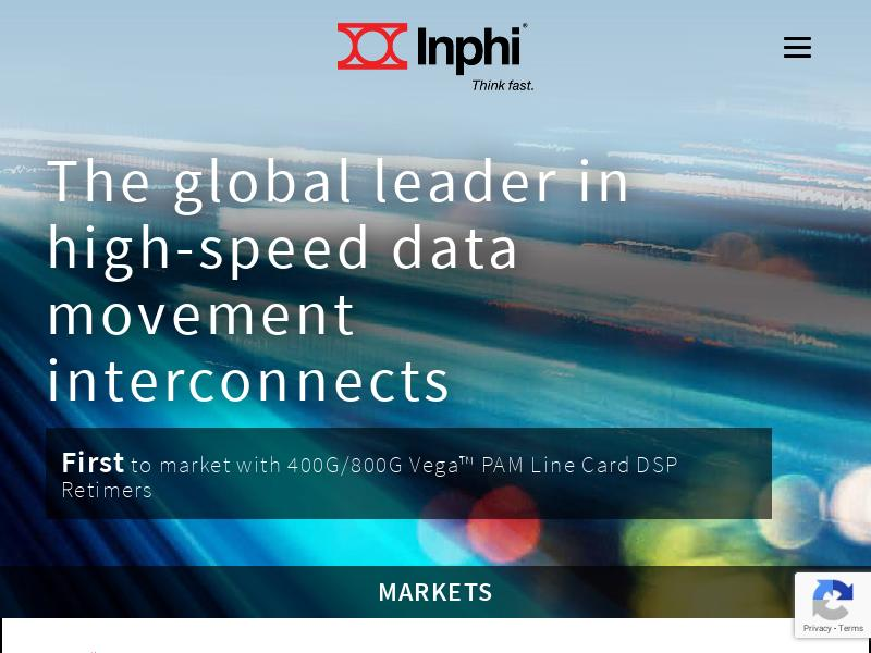 Big Move For Inphi Corporation