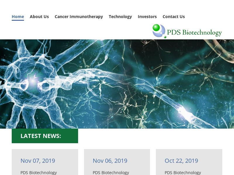 PDS Biotechnology Corporation Made Headway