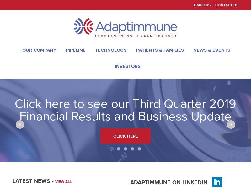 A Win For Adaptimmune Therapeutics plc