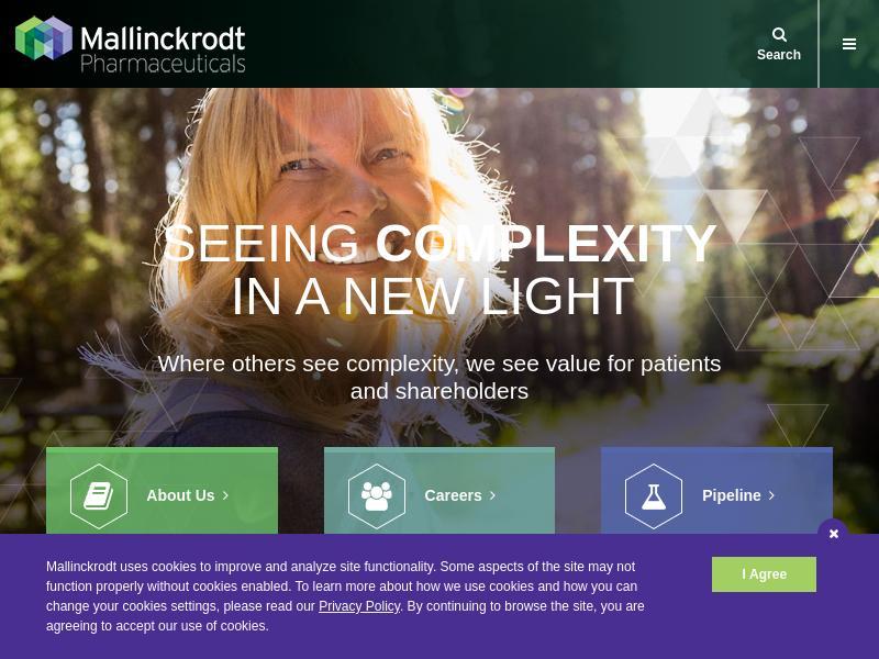 Mallinckrodt plc Gains 39.27%
