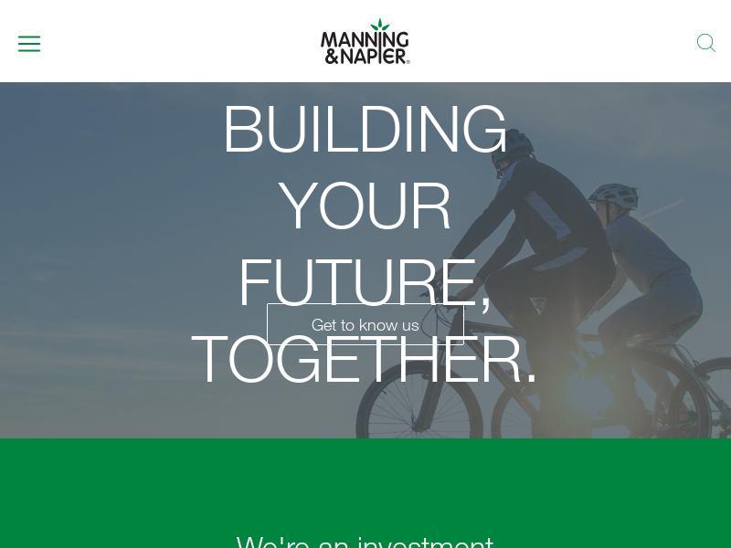 Manning & Napier, Inc. Gains 43.13%