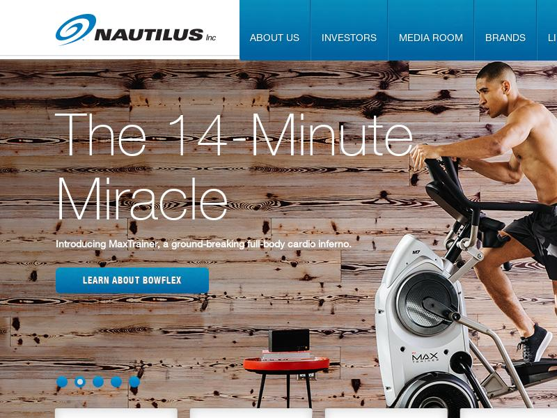 Nautilus, Inc. Gains 56.67%