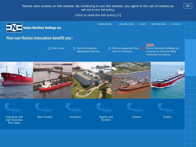 Navios Maritime Holdings Inc. Skyrocketed