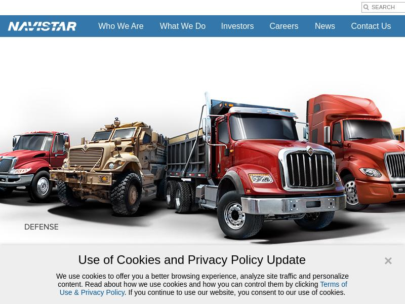 Navistar International Corporation Made Headway