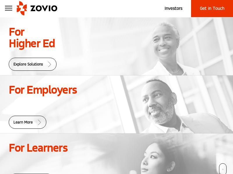 Big Move For Zovio Inc