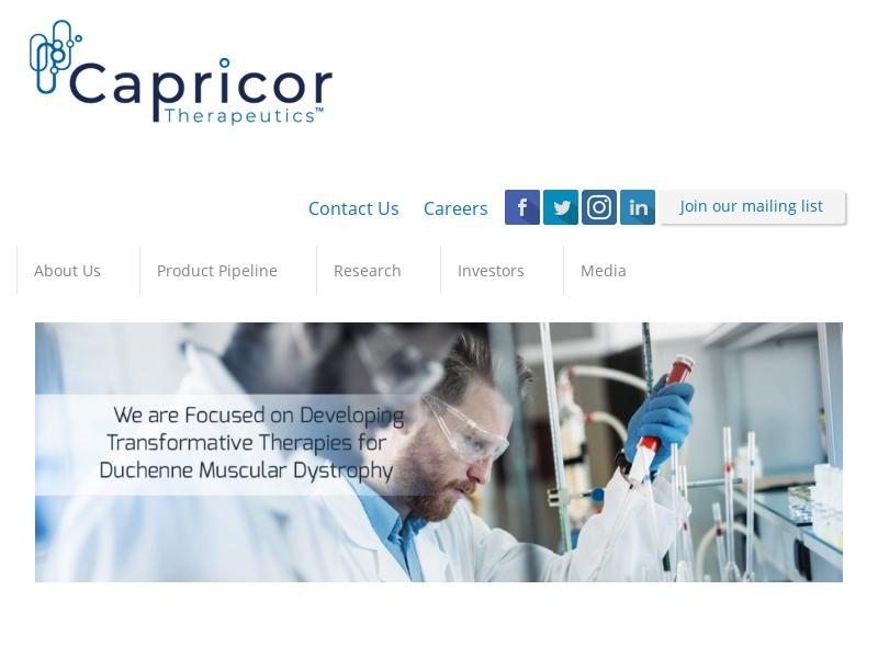 Big Gain For Capricor Therapeutics, Inc.