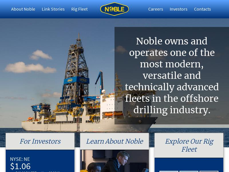 Noble Corporation plc Gains 161.43%