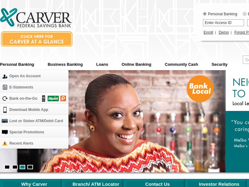 Carver Bancorp, Inc. Soared